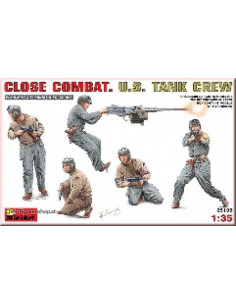 Close Combat. U.S. Tank Crew
