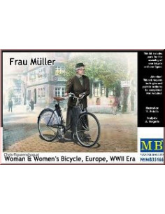 Frau Müller, Women and Bicycle