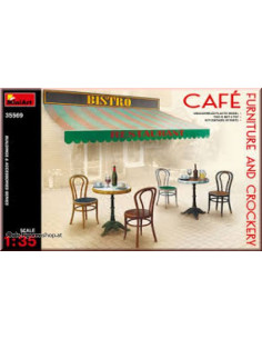 Cafe, Furniture and Crockery