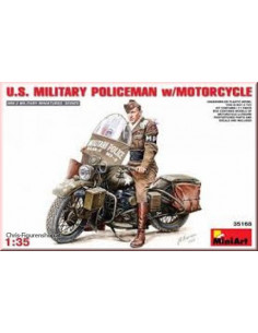 U.S. MP with Motorcycle