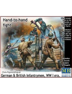 Hand to hand fight WW 1