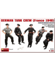 German Tank Crew (France 1940)