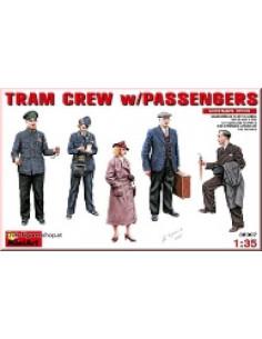 Tram Crew with Passenger
