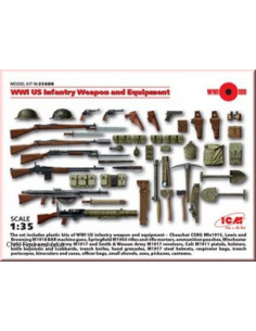 WW1 US Infantry Weapons