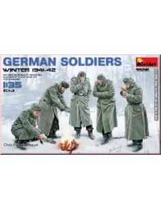 German Soldiers, Winter...
