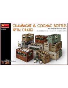 Champagne & Cognac Flaschen...