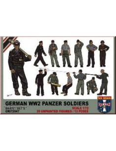 WWII German Panzer Soldiers...