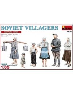 russische Landleute