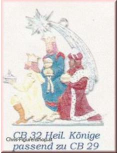 Heilige 3. Könige (unbemalt)