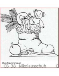 Nikolausschuh (unpainted)