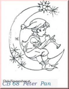 Peter Pan (unbemalt)