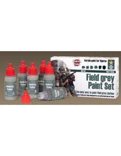 Field grey Paint Set 6x17ml