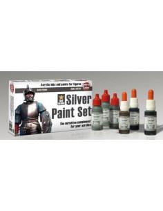 Silberfarben Set 6x17ml