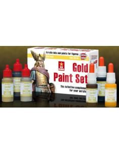 Gold Paint Set 6x17ml