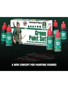 Green Paint Set 6 x 17ml