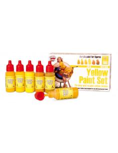 Yellow Paint Set 6 x 17ml