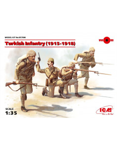 WK1 Türkische Infanterie...