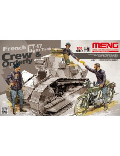 French FT-17 Tank Crew &...