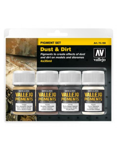 "Vallejo Pigment Set "" Dust..."