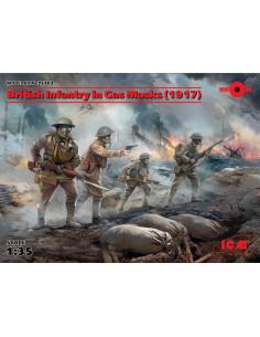 Britische Infanterie mit...