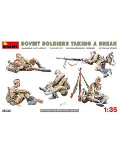 Soviet Soldiers Taking a Break