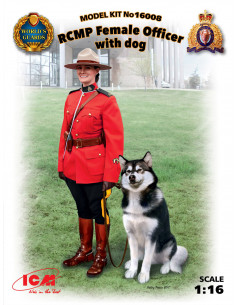 RCMP Female Officer with dog