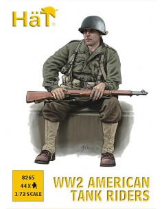 WW II American Tank Riders