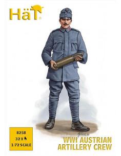 WW I Austrian Artillery Crew