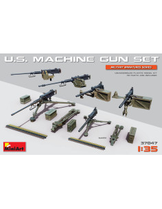 U.S. Heavy Machinegun Set