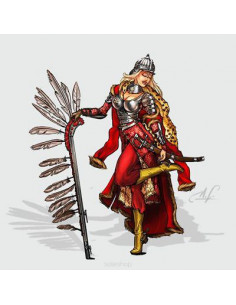Olenka, the Winged Hussar