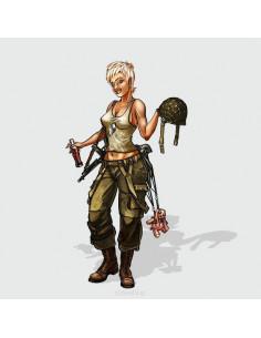 Jane, the US Paratrooper