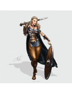Lagertha, the Shieldmaiden