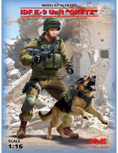 "IDF K-9 Unitz ""OKETZ"" with dog"
