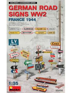 German road signs WW2...