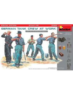 Deutsch Panzer Crew bei der...