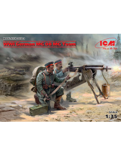 WW1 German MG08 Team
