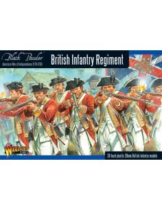 AWI British Infantry Regiment