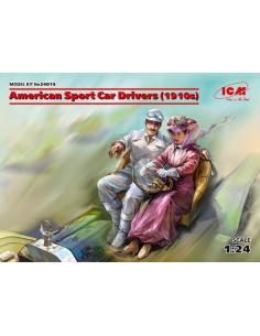 American Sport Car Driver...