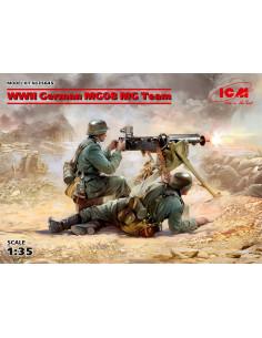 WWII German MG08 MG Team II