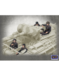 Deutsche Panzerbesatzung...