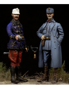 Austro-Hungarian Officers...
