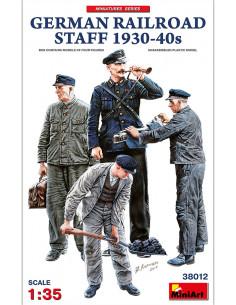 German Railroad Staff 1930...