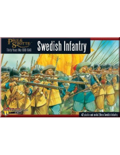 30 Years War Swedish Regiment