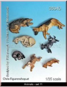 Tiere Set 11